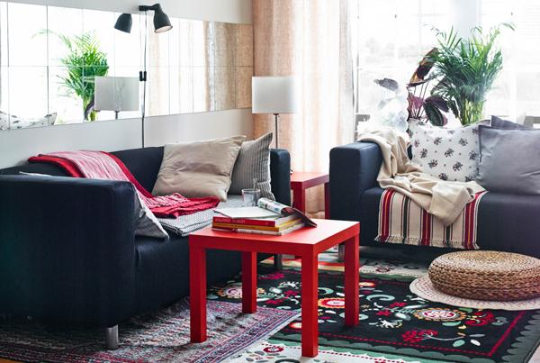 Cozy Ikea Family Room