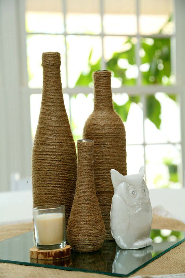 Creative Diy Wine Bottle Decor