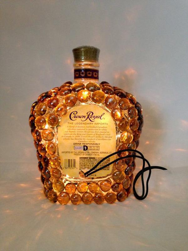 Crown Royal Liquor Bottle Light