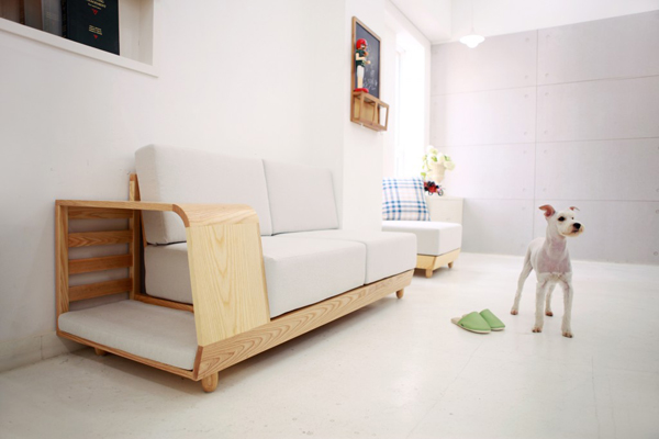 Functional dog house sofa by seungji mun home design and Dog house sofa