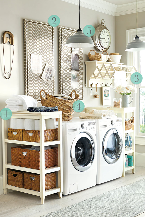 5 Favorite How To Laundry Room Ideas | HomeMydesign on Laundry Decor Ideas  id=59042