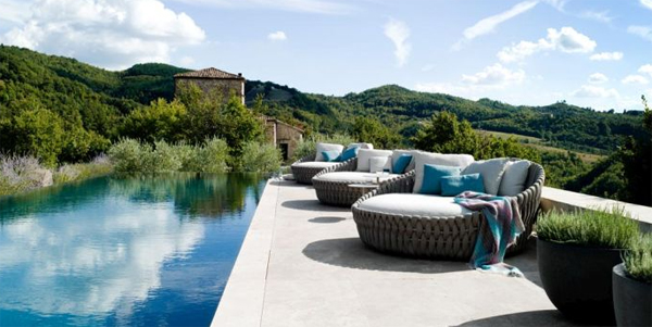 Tosca outdoor furniture by tribu home design and interior for Most expensive outdoor furniture