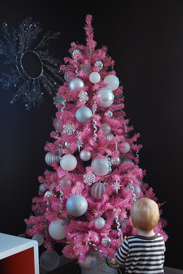 you might also like 15 cute and beautiful pink christmas tree decorating ideas - Pink Christmas Decorations Ideas