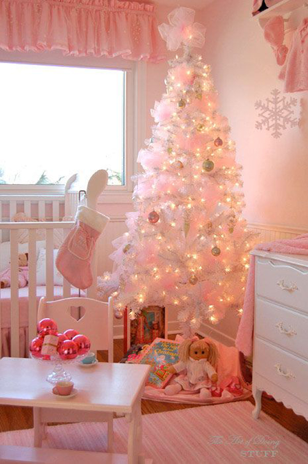 Might also like 15 cute and beautiful pink christmas tree decorating
