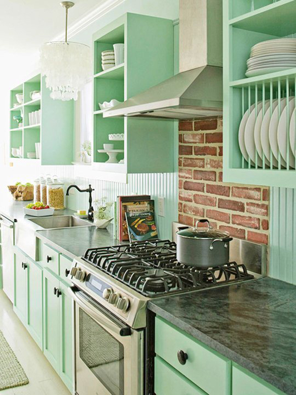 10 Kitchen And Home Decor Items Every 20 Something Needs: Top 10 Rainbow Colorful Kitchens