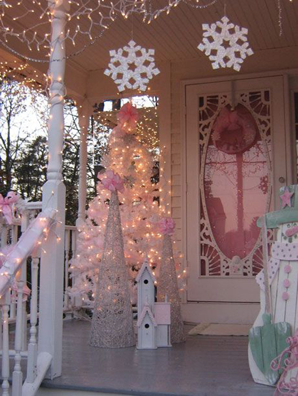 outdoor pink christmas trees - Pink Christmas Tree