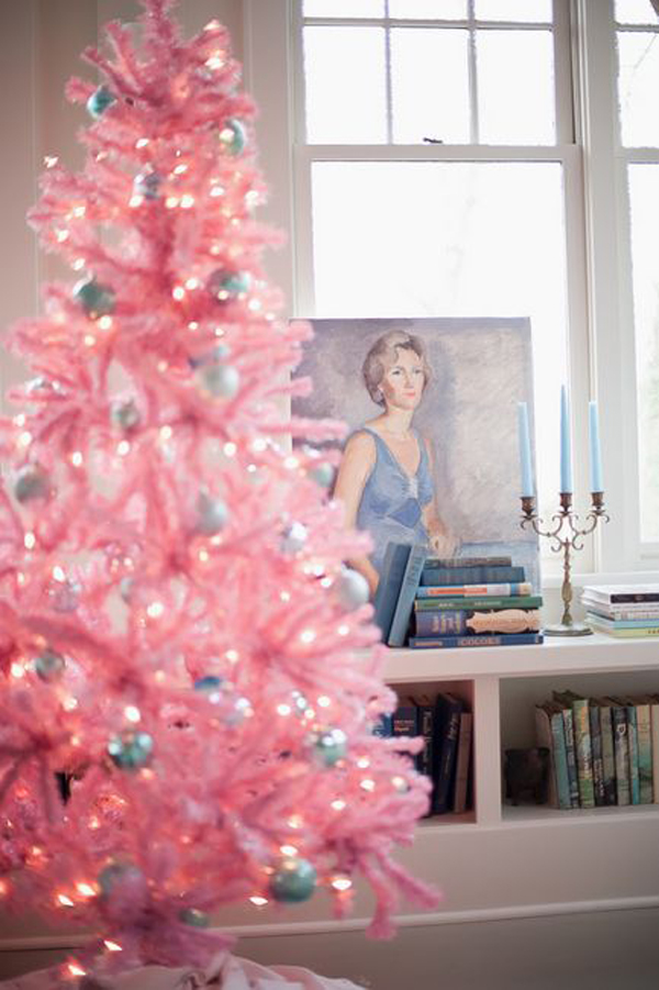 20 Awesome Pink Christmas Tree Ideas | Home Design And Interior