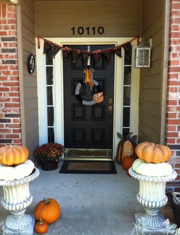 Awesome Halloween Front Door Ideas Home Design And Interior - Front door ideas
