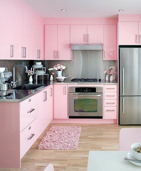 Playing With Color Is The Easiest Way To Decorate Kitchen I M Hy For Things Colorful So Of Course This Has Every Rainbow