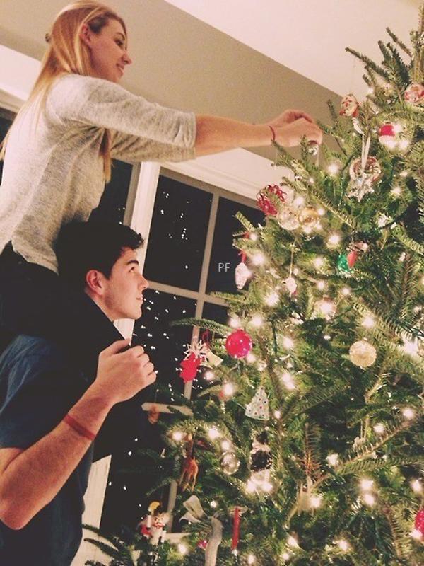 Romantic Christmas Tree Lights