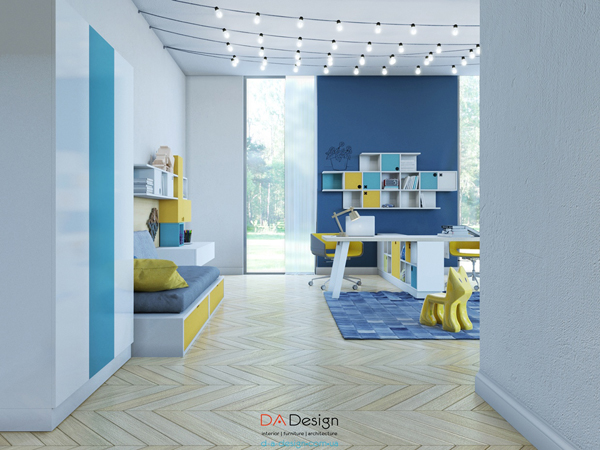 Flooring For Kids Room : Gallery of Stylish Kids Room For Two Generations