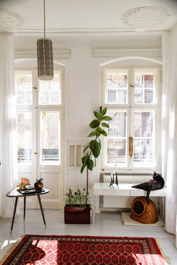 Vintage apartments in berlin for Apartment design retro