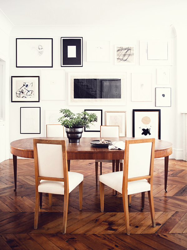 Original west village townhouse in new york home design for Dining room ideas for townhouse