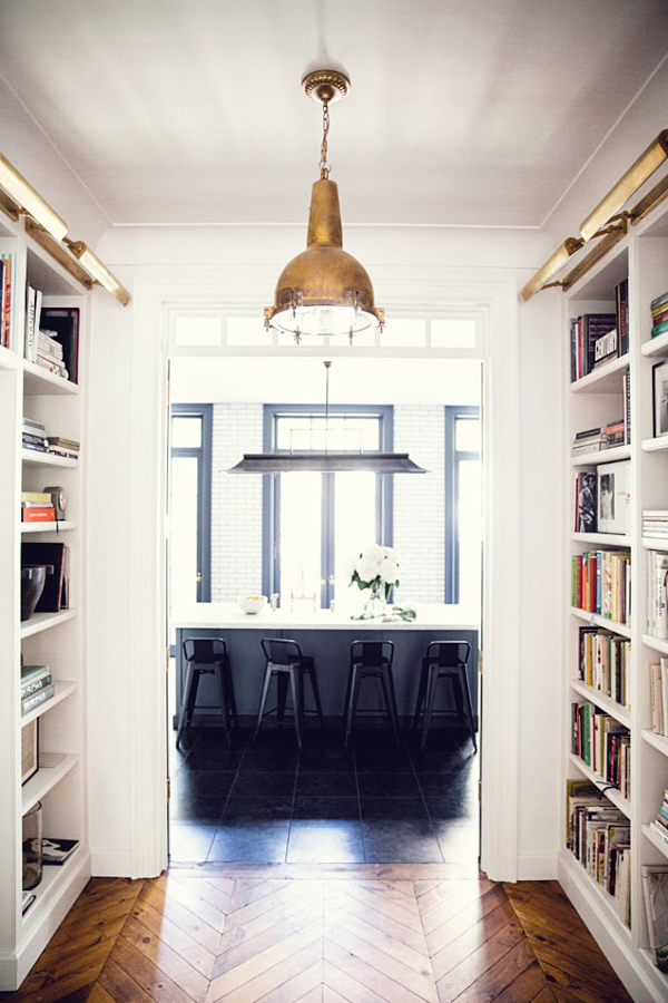 Original west village townhouse in new york home design for New york townhouse interior
