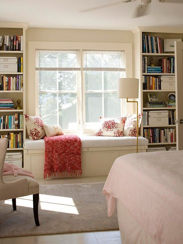 Bedroom Window Seat bedroom-window-seat-reading-nooks