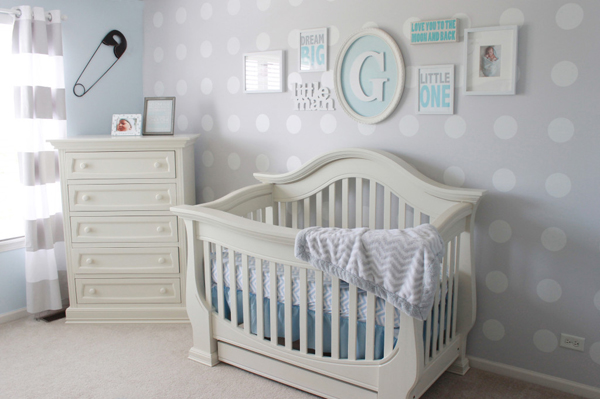 10 Wonderful Baby Nursery With Polka Dot Themes