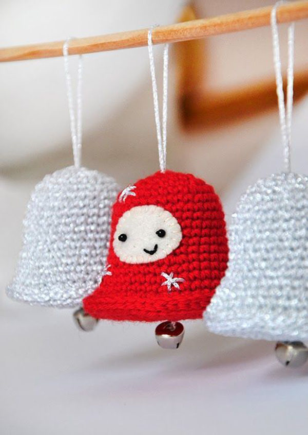 20 Awesome Knitted Christmas Decorations | Home Design And Interior