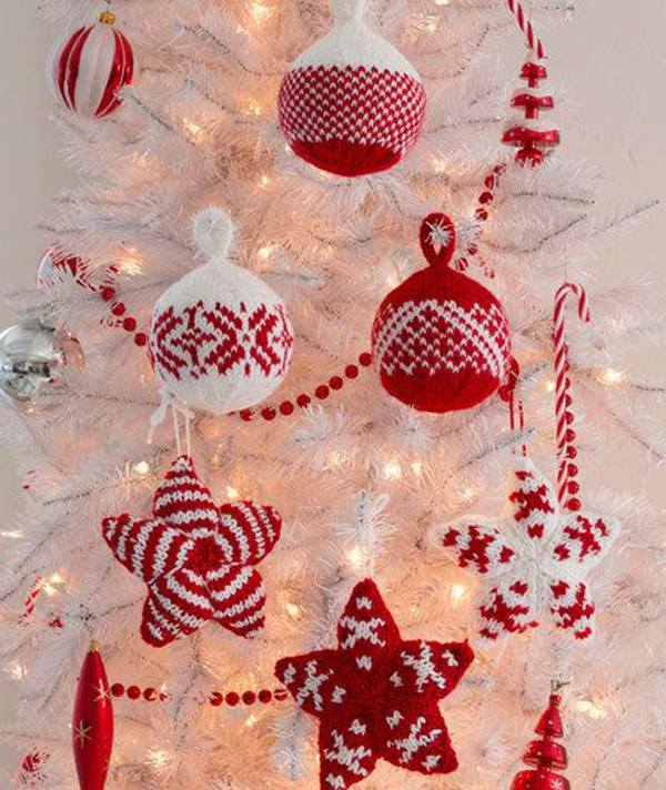 Christmas-knitted-trees-ornament