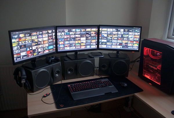 Gallery of 20 Cool Computer Arrangements For Gamers