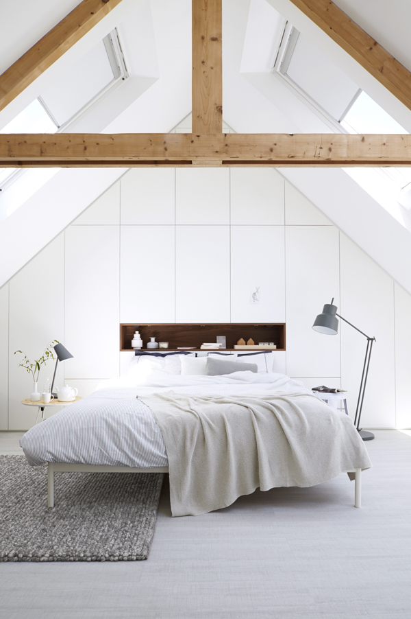 loft bedrooms with wood transformation home design and