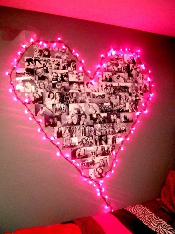 Pink Teen Love Photo Craft Ideas