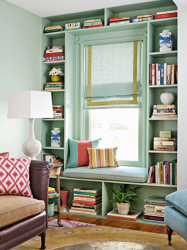 Reading Room Design Ideas: 15 Stylish Built-In Reading Nooks