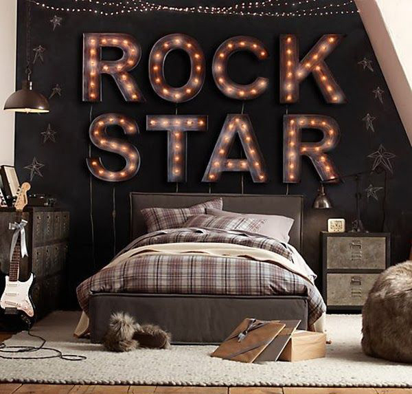 10 Awesome Music Inspired Home Decor Ideas: 10 Teenage Boys Music Bedrooms
