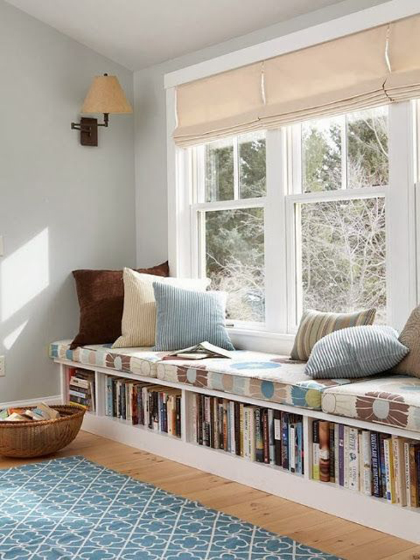 15 Stylish Built In Reading Nooks Home Design And Interior