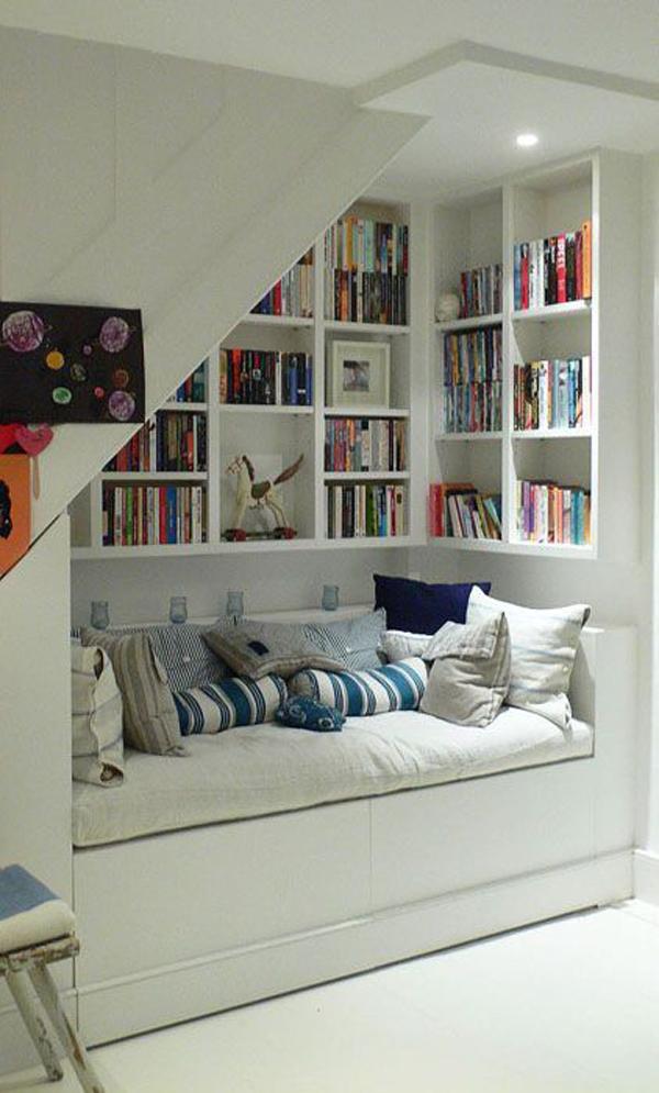15 stylish built in reading nooks home design and interior for Lesezimmer einrichten ideen