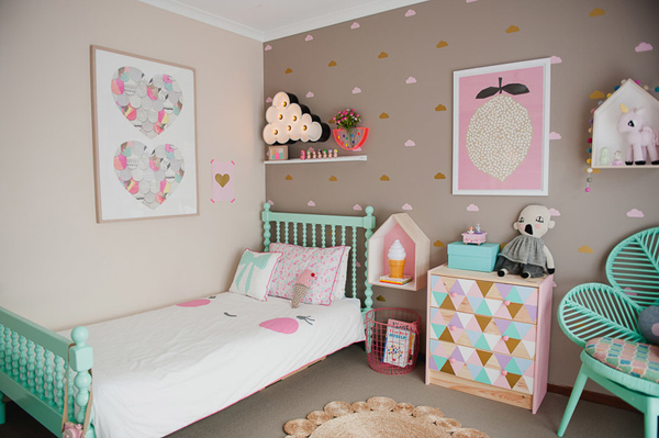 Vintage Kids Room For Holly & Asher  Home Design And Interior