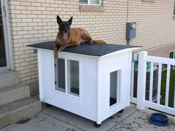 20 Awesome Outdoor Dog Houses Home Design And Interior