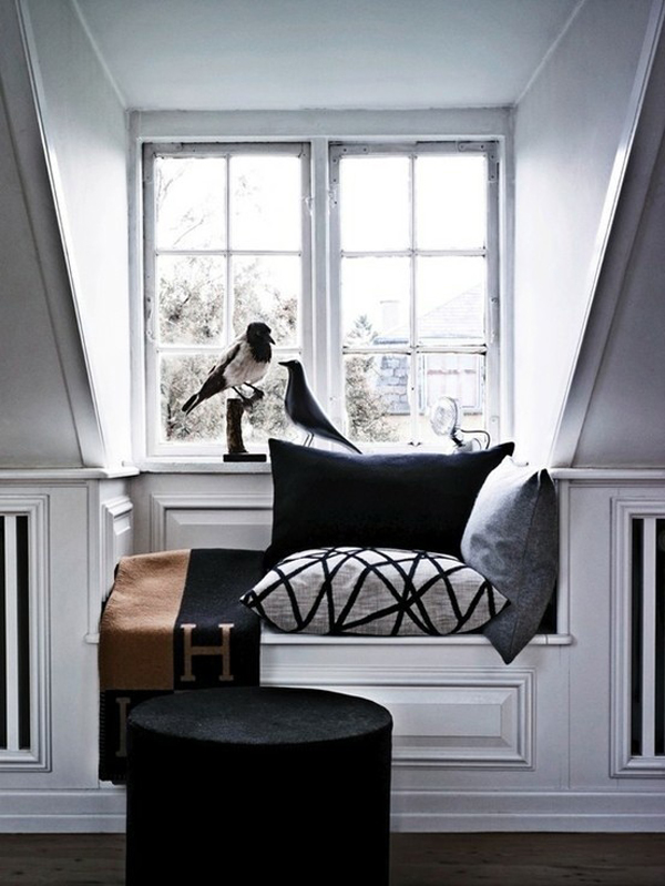 15 stylish built in reading nooks home design and interior Window seat reading nook