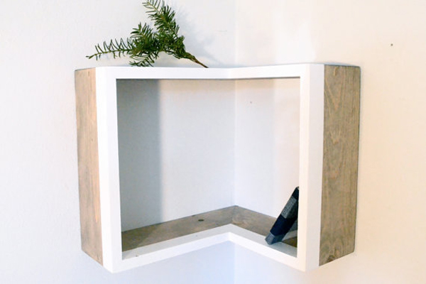 Diy corner shelf design - House design new model shelves ...