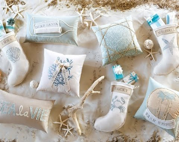 25 inspiring beach christmas decorations - Beach Christmas Decorations