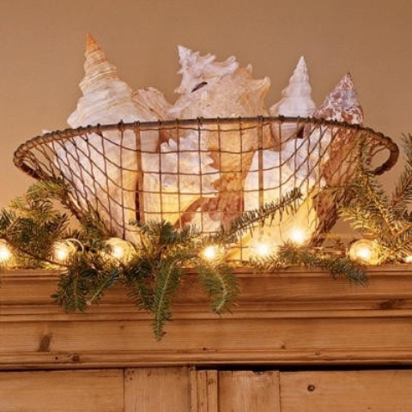 Christmas Decorations For The Beach House : Inspiring beach christmas decorations home design and