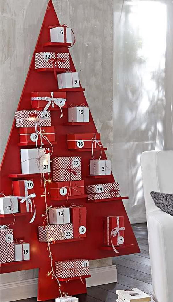 Xmas Advent Calendar Ideas : Beautiful christmas advent calendar ideas home design