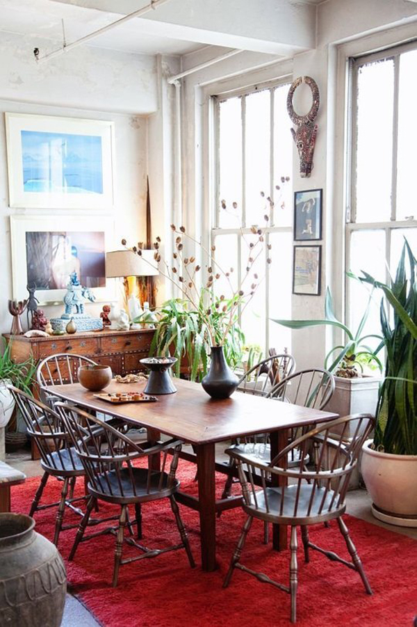 Dining Room With Plant Ideas