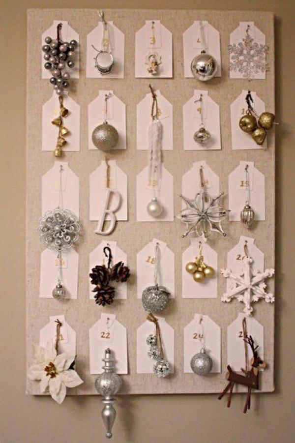 Gallery of 25 beautiful christmas advent calendar ideas