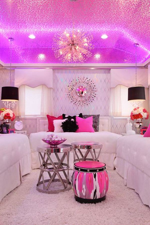 10 creative teenage girl room ideas home design and interior for Teenage girl room decorating ideas