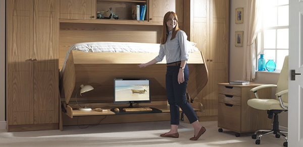 The Study Bed With Clever Solutions Home Design And Interior