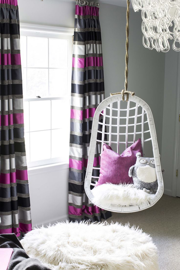 teenage girl hanging chairs - Teen Girl Room Furniture
