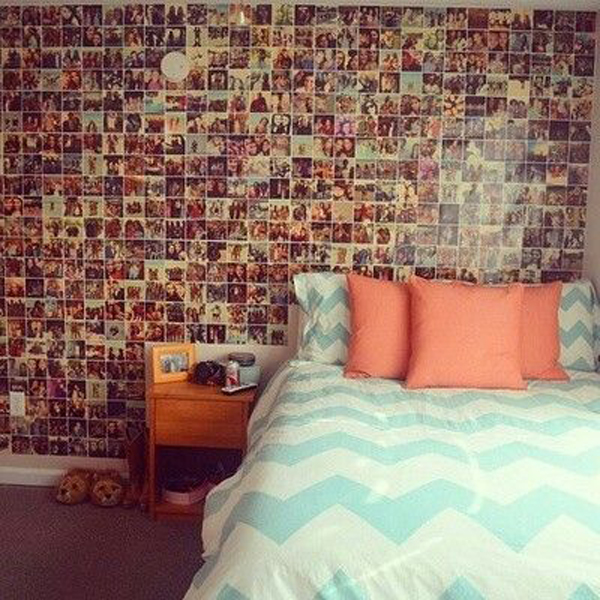 Teenage Bedroom Wall Ideas Tumblr: Teenage-girl-photo-wall-ideas