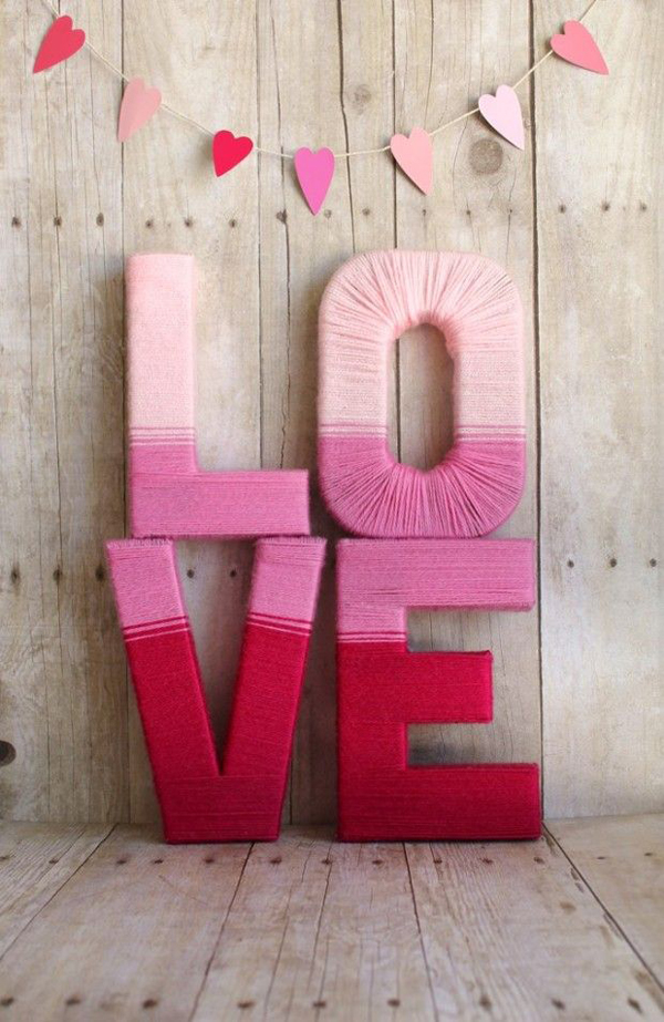 Diy Pink Valentine Crafts