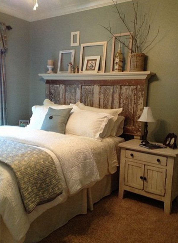 10 DIY Bedroom Headboard Ideas | HomeMydesign on Cheap:l2Opoiauzas= Bedroom Ideas  id=33018