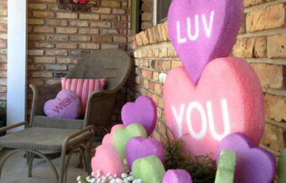 20 romantic outdoor valentine decorations - What Should I Do For Valentines Day