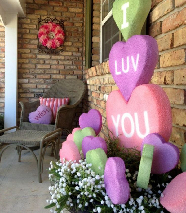 20 Romantic Outdoor Valentine Decorations Home Design And