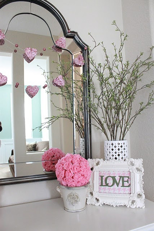 20 Pink Valentine Day Decorations Home Design And Interior