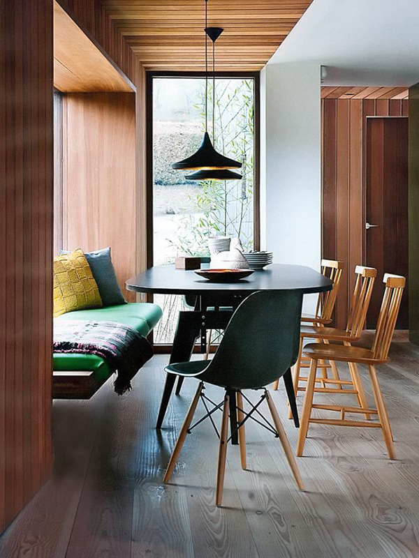 small modern dining room decorations