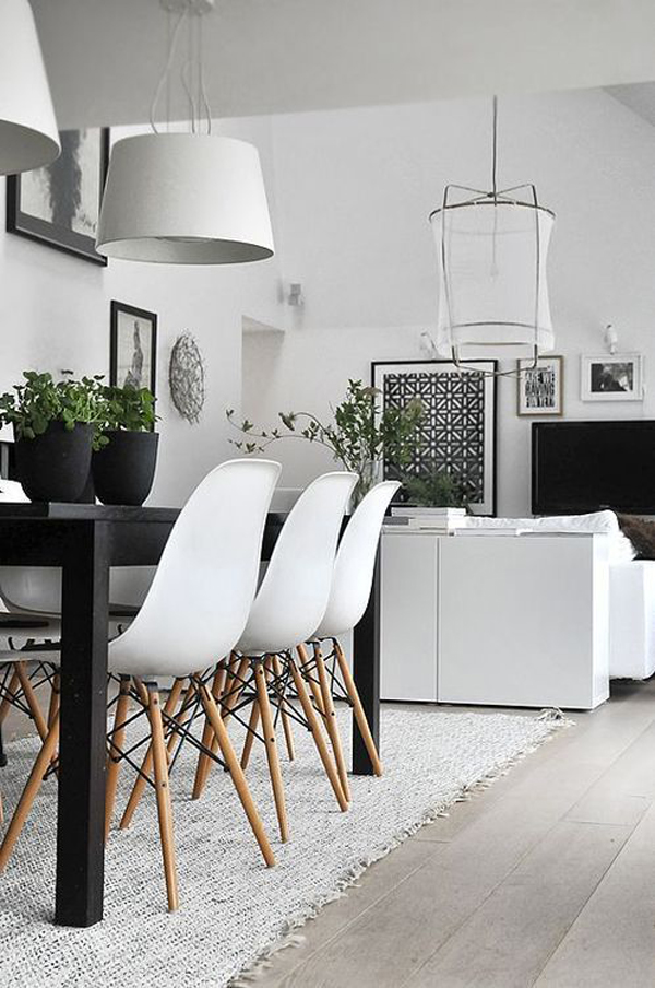 Small Modern Dining Room Ideas Part - 22: Homemydesign.com