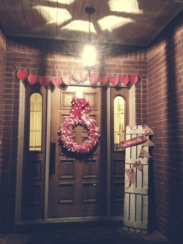 20 Romantic Outdoor Valentine Decorations Home Design